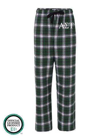 Alpha Sigma Tau Flannel Pants