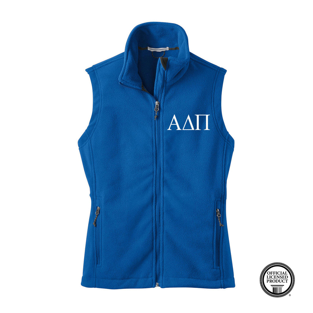 Alpha Delta Pi Fleece Vest