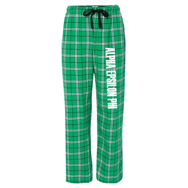 Alpha Epsilon Phi Flannel Pants