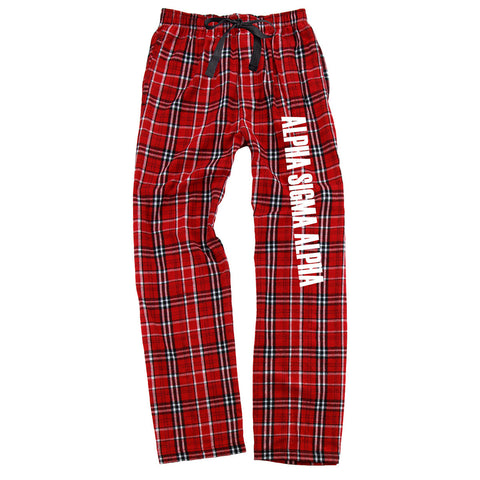 Alpha Sigma Alpha Flannel Pants