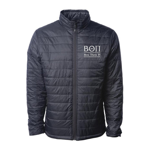 Beta Theta Pi Puffer Jacket