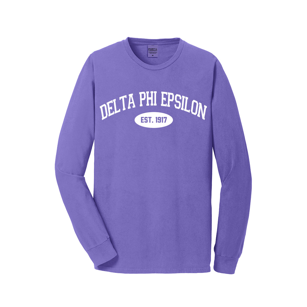 Delta Phi Epsilon Long Sleeve Vintage T-Shirt