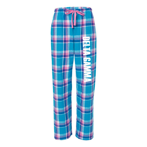 Delta Gamma Flannel Pants