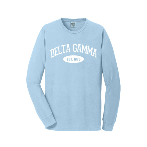 Delta Gamma Long Sleeve Vintage T-Shirt