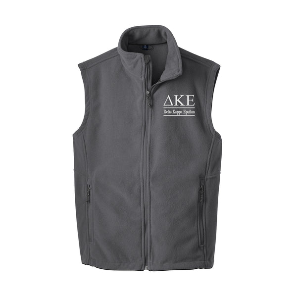 Delta Kappa Epsilon Fleece Vest