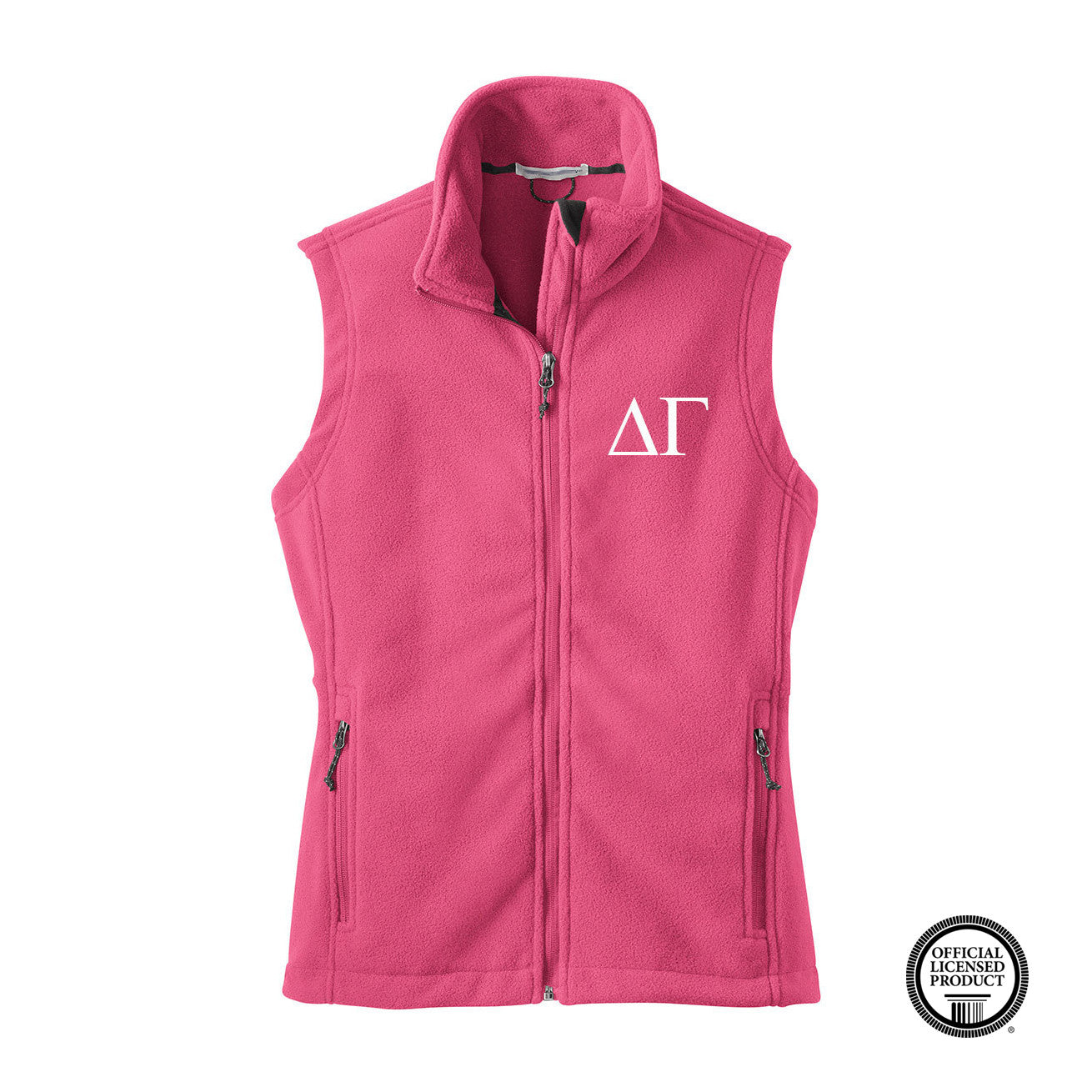 Delta Gamma Fleece Vest