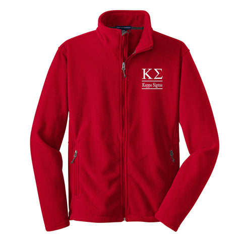 Kappa Sigma Fleece Jacket