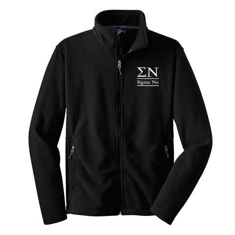 Sigma Nu Fleece Jacket