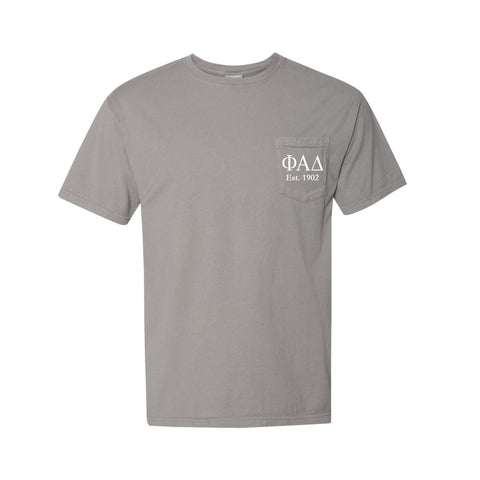 Phi Alpha Delta Short Sleeve Pocket Tee