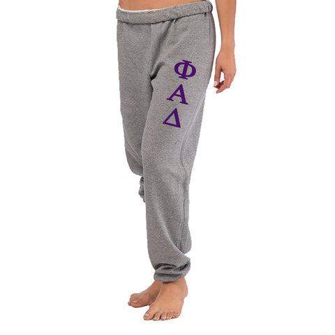 Phi Alpha Delta Oversized Boyfriend Sweats