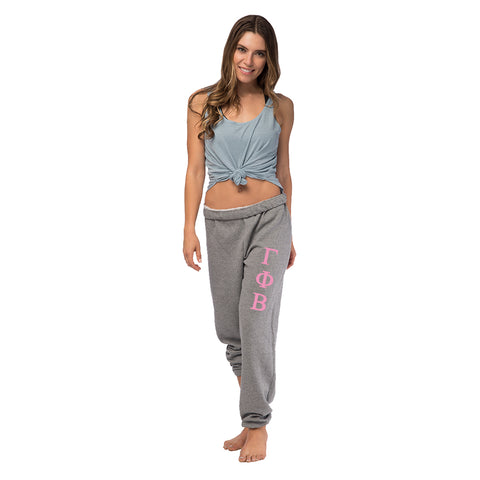 Gamma Phi Beta Oversized Boyfriend Sweats