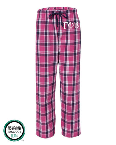 Gamma Phi Beta Flannel Pants
