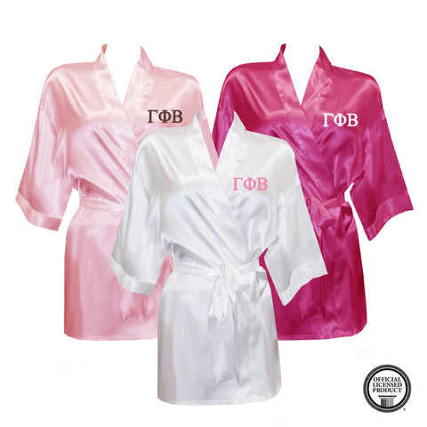 Gamma Phi Beta Satin Robe