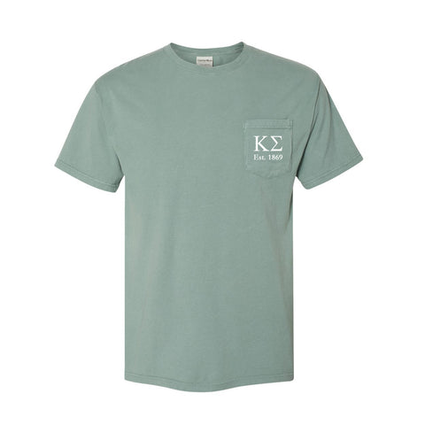 Kappa Sigma Short Sleeve Pocket Tee