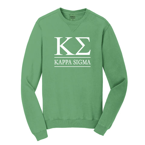 Kappa Sigma Beach Washed Crewneck Sweatshirt