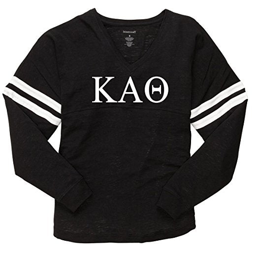 Kappa Alpha Theta Varsity Long Sleeve T-Shirt