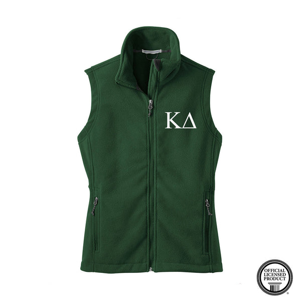 Kappa Delta Fleece Vest
