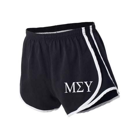 Mu Sigma Upsilon Running Shorts