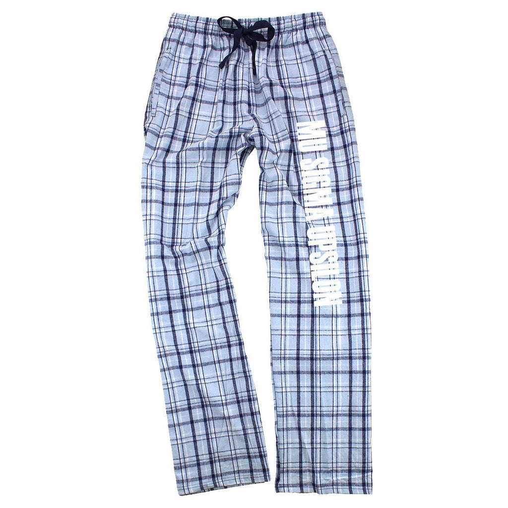 Mu Sigma Upsilon Flannel Pants