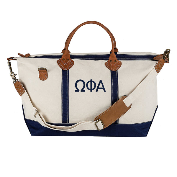 Omega Phi Alpha Weekender Travel Bag