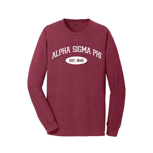 Alpha Sigma Phi Long Sleeve Vintage T-Shirt