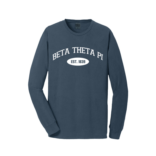 Beta Theta Pi Long Sleeve Vintage T-Shirt