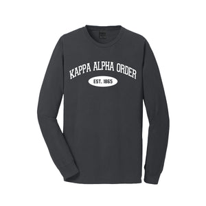 Kappa Alpha Order Long Sleeve Vintage T-Shirt
