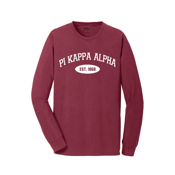 Pi Kappa Alpha Long Sleeve Vintage T-Shirt