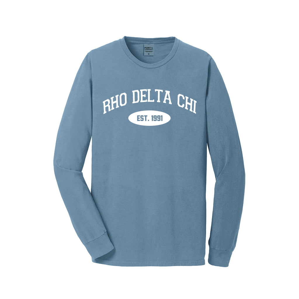 Rho Delta Chi Long Sleeve Vintage T-Shirt