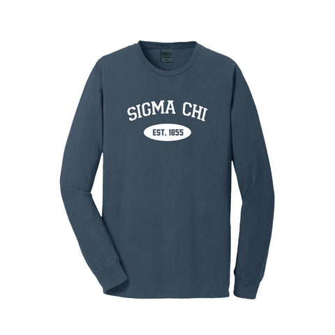 Sigma Chi Long Sleeve Vintage T-Shirt