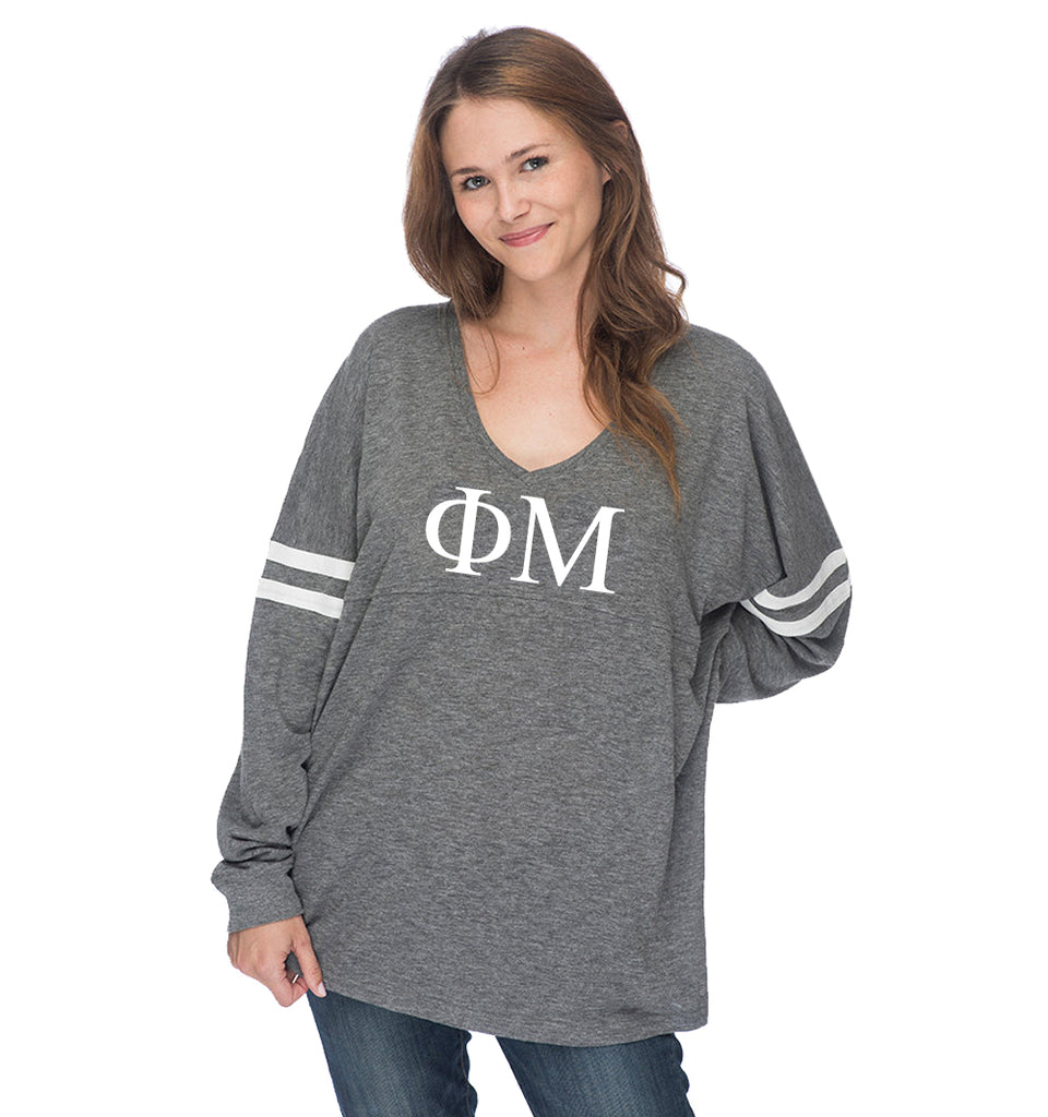 Phi Mu Varsity Long Sleeve T-Shirt