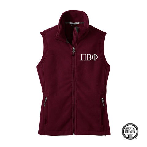 Pi Beta Phi Fleece Vest