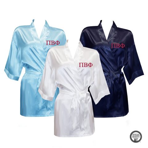 Pi Beta Phi Satin Robe