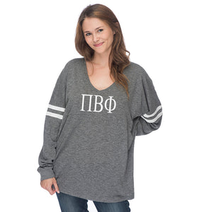 Pi Beta Phi Varsity Long Sleeve T-Shirt