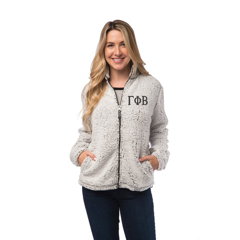 Gamma Phi Beta Sherpa Full Zip Jacket