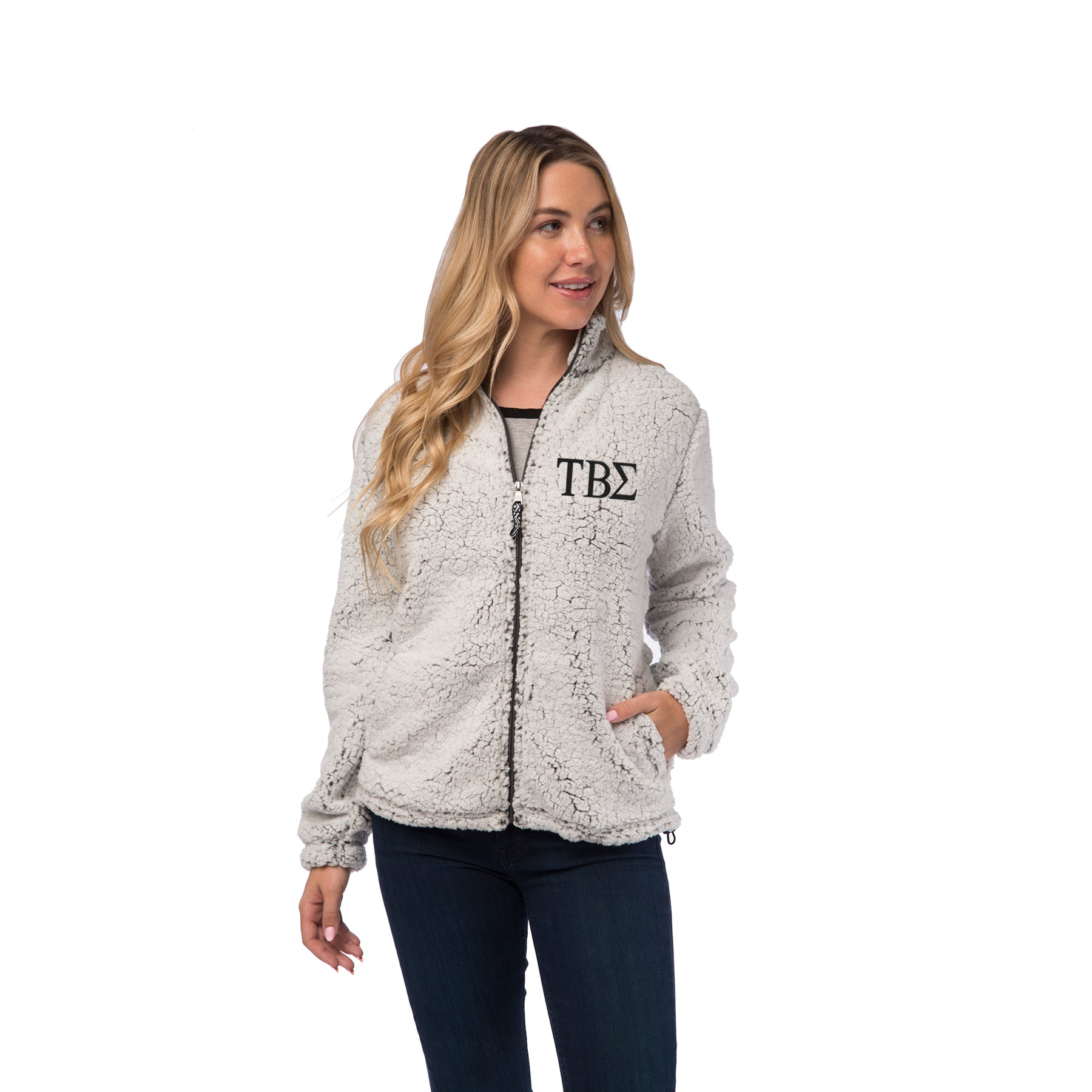 Tau Beta Sigma Sherpa Full Zip Jacket