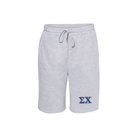 Sigma Chi Midweight Fleece Shorts