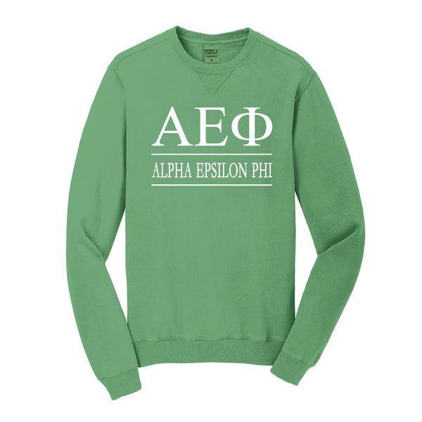 Alpha Epsilon Phi Vintage Color Crewneck Sweatshirt