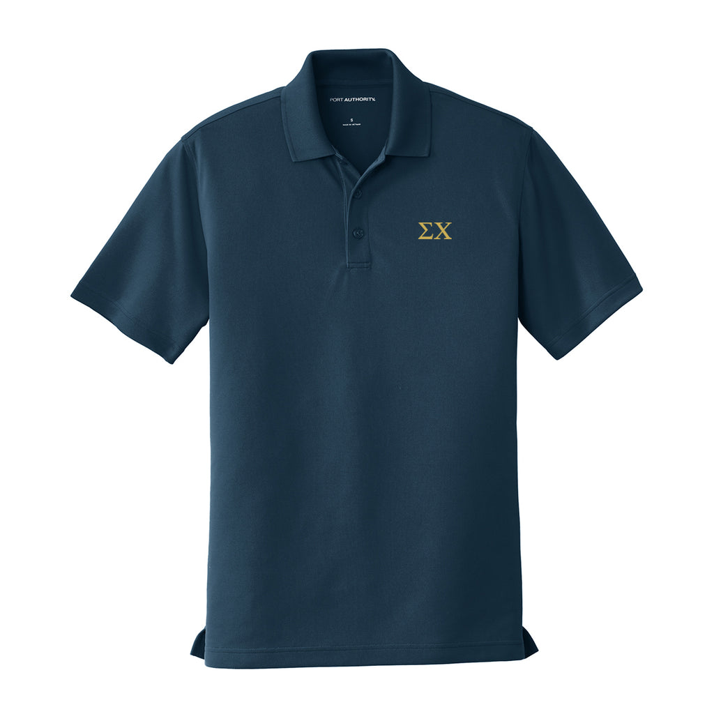 Sigma Chi Performance Polo - Short Sleeve