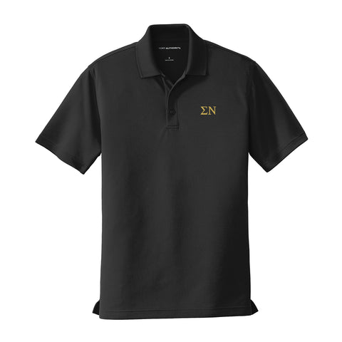 Sigma Nu Performance Polo - Short Sleeve