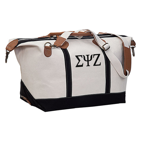 Sigma Psi Zeta Weekender Travel Bag