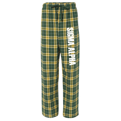 Sigma Alpha Flannel Pants