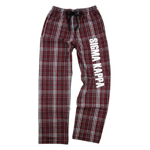 Sigma Kappa Flannel Pants