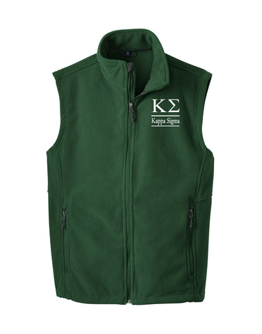Kappa Sigma Fleece Vest