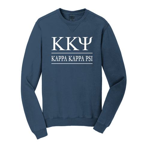 Kappa Kappa Psi Beach Washed Crewneck Sweatshirt
