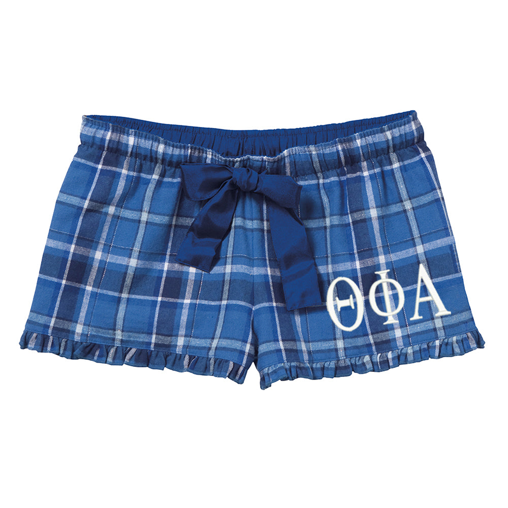Theta Phi Alpha Flannel Boxer Shorts