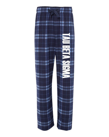 Tau Beta Sigma Flannel Pants