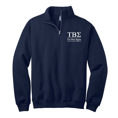 Tau Beta Sigma Quarter Zip Pullover