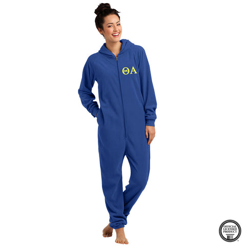 Theta Alpha Fleece Lounger