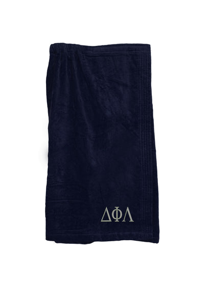 Delta Phi Lambda Terry Velour Spa Wrap
